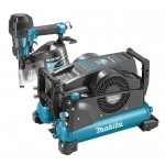 Makita DK1194 Startset 22 Bar Tacker + Compressor + Haspel + Trolley + Nagels