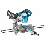 Makita DLS714PT2 Accu afkortzaag | 190 mm | 2x 18 Volt is 36 Volt | 5,0 Ah
