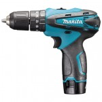 Makita HP330DWE Klopboormachine | 10,8 Volt 1,3 Ah | 24 Nm | +Koffer
