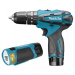 Makita HP330DWLE Klopboormachine | 10,8 Volt 1,3 Ah | 24 Nm | +Koffer en lamp