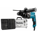 Makita HR2230X4 Boorhamer 2.2J | SDS+ 20 mm | 710 Watt | Alu. koffer