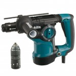 Makita HR2811FT Combihamer 2.9J | SDS+ 32 mm | 800 Watt | + Boorhouder