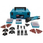 Makita TM3010CX2J Multitool | Oscillerend | 320 Watt | +M-Box en toebehoren