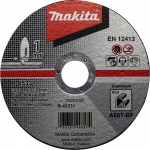 Makita B-45331 Doorslijpschijf | Aluminium | 125 mm | per 10