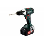 Metabo BS 18 LT Accuboormachine | 18 Volt 4,0 Ah Li-Ion | +Koffer