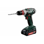 Metabo BS 18 Quick Basisset Accu Boormachine | 18 Volt 2,0 + 4,0 Ah | Quick | +MetaLoc