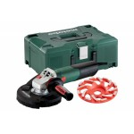 Metabo WE 15-125 HD Set GED 125 Haakse slijper | 125 mm | 1250 Watt | Stofafzuiging | +Metaloc