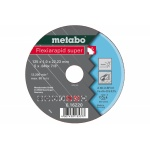 Metabo 616220000 Doorslijpschijf | Inox | 125 x 1 x 22.23 mm | A 60-U | Per 1