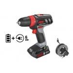 Skil 2461 AA Accuboor | Hybrid Power | 14.4 V - 230 Volt | 10 mm