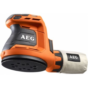 AEG BEX 18-125 Accu schuurmachine | 125 mm | 18 Volt | Basic