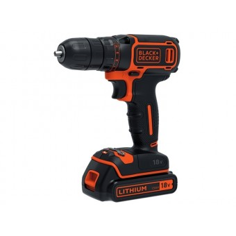 Black & Decker BDCDC18 Accu schroef-/boormachine | 1x18V 1,5Ah Li-Ion | 1-10mm