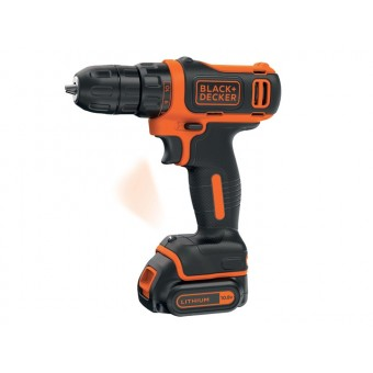 Black & Decker BDCDD12 Accu schroef-/boormachine | 1x10.8V 1,5Ah Li-Ion | 1-10mm