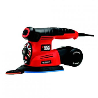 Black & Decker KA280 Multi Schuurmachine | 100x165 mm | 220 Watt | Handpalm