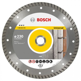 Bosch Accessoires 2.608.602.574 Diamantschijf | Expert for Universal Turbo | 115 x 22,23 mm