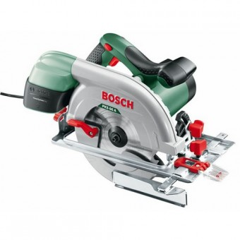 Bosch Groen PKS 66 A Cirkelzaag | 66 mm | 1600 Watt | Softstart | Cleansystem Box