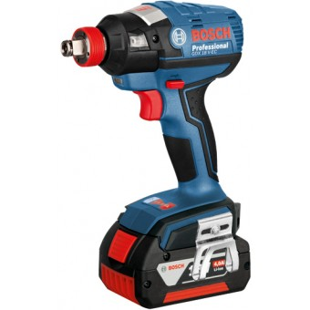 Bosch Pro GDX 18 V-EC Wireless Slagmoeraanzetter 18V 4.0Ah Li-Ion | 1/4+ 1/2Inch | Wireless