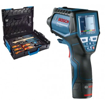Bosch Pro GIS 1000 C +Gedore Thermo- en vochtdetector | 12 Volt 1,5 Ah | +L-Boxx +Gedore