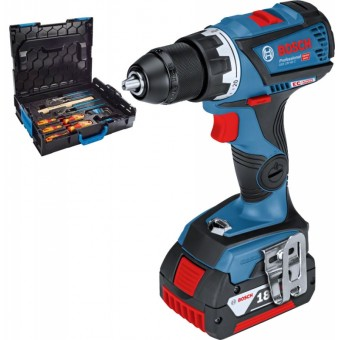 Bosch Pro GSR 18 V-60 C + Gedore Accuboor | 18V 5,0Ah Li-Ion | Connected | L-Boxx | +Gedore set