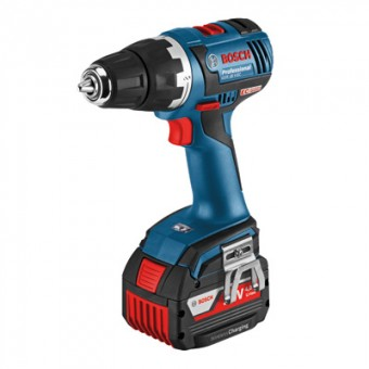 Bosch Pro GSR 18 V-EC Wireless Accuboormachine | 18 V 4,0 Ah Li-Ion | L-Boxx | Wireless Charge
