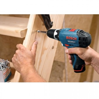 Bosch Blauw GSR 10,8-2-Li+GOP 10,8-Li Boormachine + Multitool | Click and Go | 10,8V 2,5Ah Li-Ion