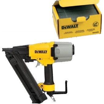 DeWALT DPN250F0C50 Tacker | Lucht | Batnagels | 8.4 Bar | +Nagels 50 mm