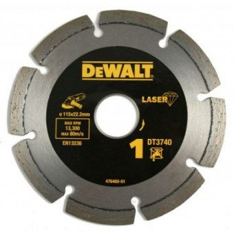 DeWALT Accessoires DT3740 Diamantschijf | High Performance | Abrasief | 115 mm | Per 1