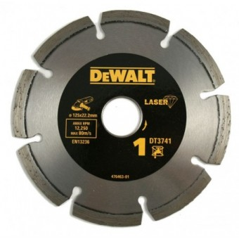 DeWALT Accessoires DT3741 Diamantschijf | High Performance | Abrasief | 125 mm | Per 1