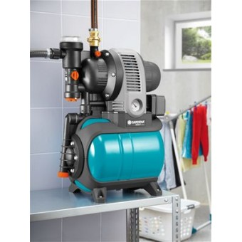 Gardena 3000/4 eco Classic Hydrofoorpomp met watertank | 4 Bar | 650 W | 2800 l/h