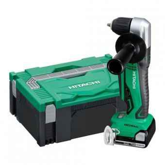 Hitachi DN14DSL (LE) Haakse boormachine | 10 mm | 14,4 Volt 2,5 Ah | +Systainer