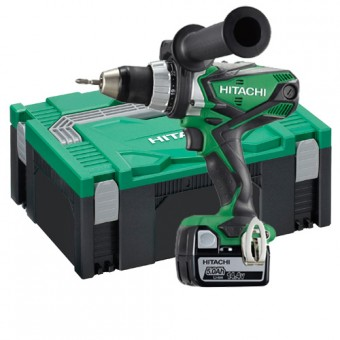 Hitachi DS14DSDL(LP) Accuboormachine | 14,4 Volt 5.0 Ah Li-Ion | +Systainer