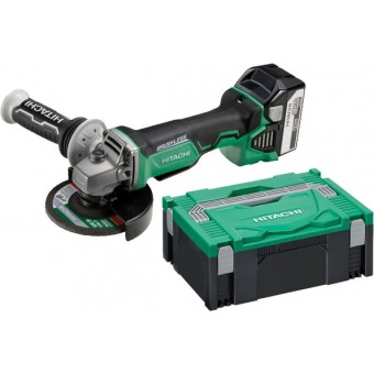 Hitachi G18DBAL(WQ) Accu Haakse slijper |18V 5,0 Ah | 125mm | Brushless |+Systainer