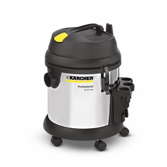 Karcher Professional NT 27/1 Me Nat-droogzuiger | 1380 W | 27L | 35mm | Roestvrij staal