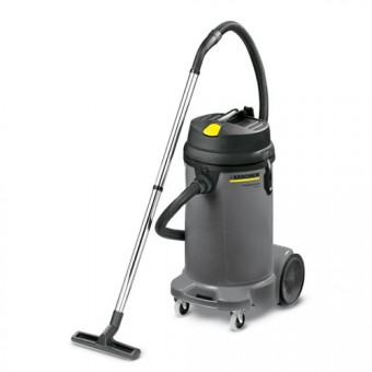 Karcher Professional NT 48/1 Nat-droogzuiger | 1380 Watt | 48L | 35mm