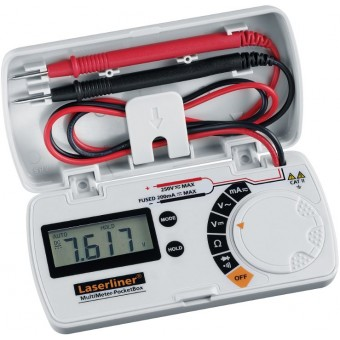 Laserliner MultiMeter-PocketBox MultiMeter | PocketBox | Universeel | 200 - 250 V