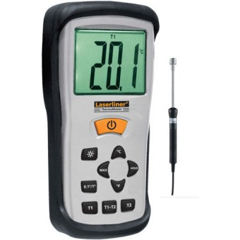 Laserliner ThermoMaster Touch Set Thermometer | Digitaal | Industrie | -50 tot 1300 Gr | +Sensor