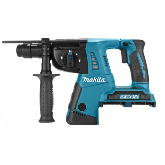 Makita DHR264Z Combihamer | SDS-Plus | 2x 18 Volt accu is 36 Volt | Basic