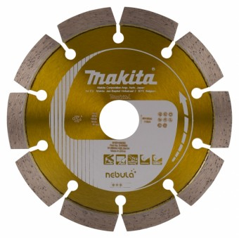 Makita Toebehoren Diamantschijf - Oranje Diamantschijf | Oranje | 125 mm | 22.2 mm | Per stuk