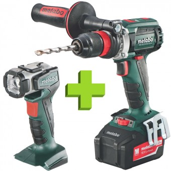 Metabo BS 18 LTX BL Quick + ULA Accu Boormachine | 50mm | 18 V | Quick | LTX-Klasse | BrushLess