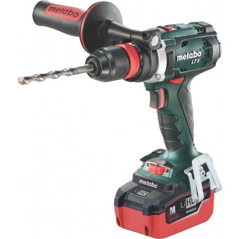 Metabo BS 18 LTX Quick (LiHD) Accuboormachine | 18 Volt 5,5 Ah LiHD | LTX | 110 Nm |+Koffer