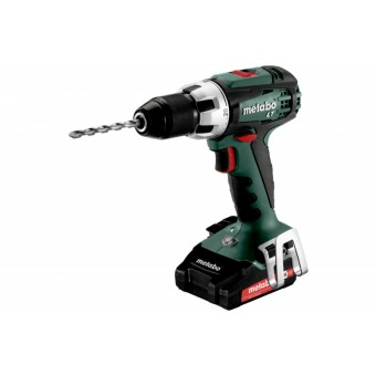 Metabo BS 18 LT Compact Accuboormachine | 18 Volt 2,0 Ah Li-Ion | +Koffer