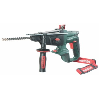 Metabo KHA 18 LTX + Inlay Accu Boorhamer 1.6J | SDS+ | 18 Volt Li-Ion | Body | +Inlay