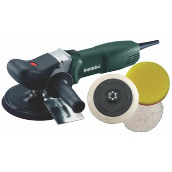 Metabo PE 12-175 Set Haakse Polijstmachine | 175 mm | 1200 Watt | Electronic