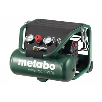 Metabo POWER 250-10 W OF Compressor | Lucht | 1500 Watt | 145 Bar | 220 lm