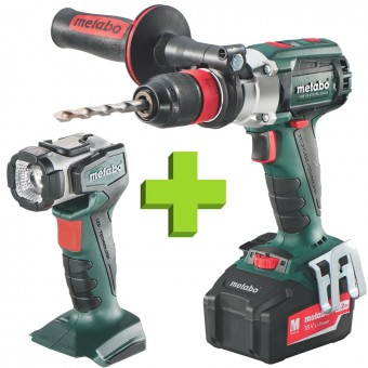 Metabo SB 18 LTX BL Quick + ULA Accuklopboormachine | 18 Volt 5,2 Ah | Quick | LTX | Brushless