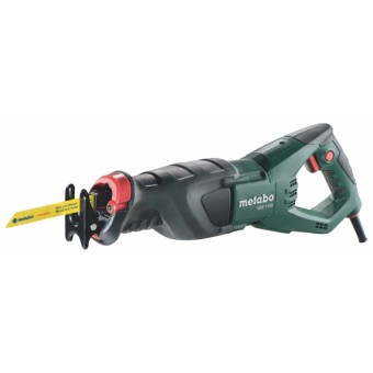 Metabo SSE 1100 Reciprozaag | 0 - 2600 Spm | 28 mm | 1100 Watt | +Koffer