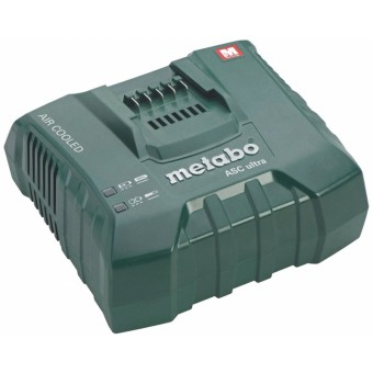 Metabo Toebehoren ASC Ultra Acculader | Air Cooled | Voor 14,4 - 36 Volt | Perfect voor 5,2A
