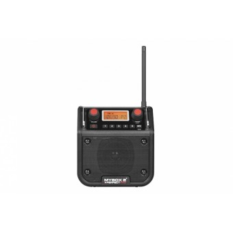 PerfectPro MYBOX 2-Black Bouw Radio | Netstroom of Batterij | Black